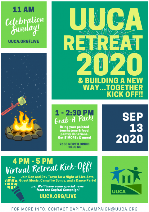 uuca retreat 2020 flyer